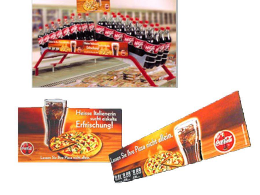 Coca-Cola Kühlerbrücke