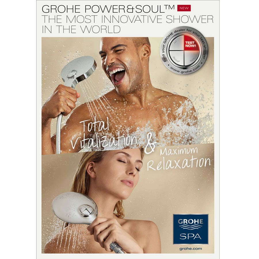 B-to-B: Grohe Power & Soul