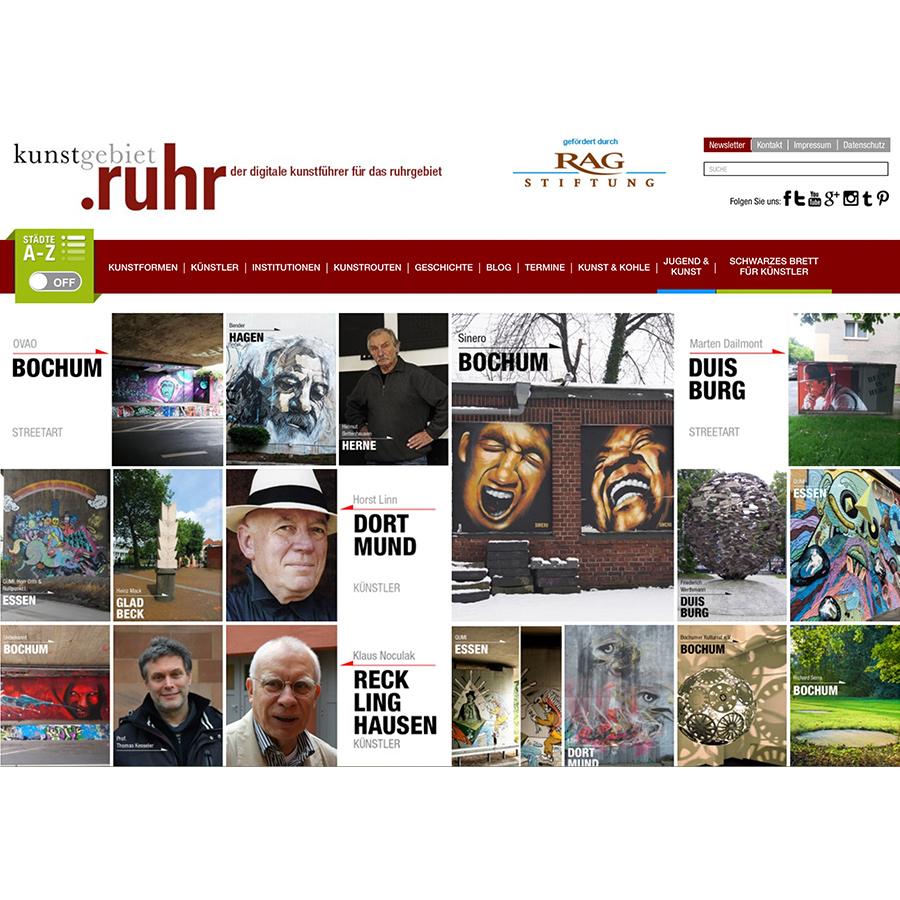 Plattformen: Kunstgebiet.Ruhr