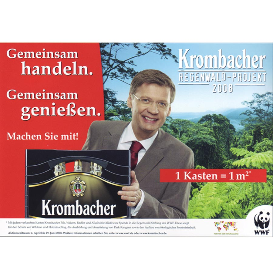 B-to-C: Krombacher Regenwald