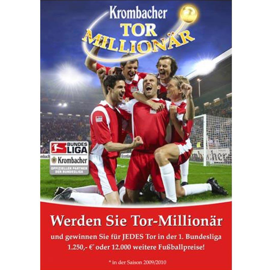 Promotion: Krombacher Tor-Millionär