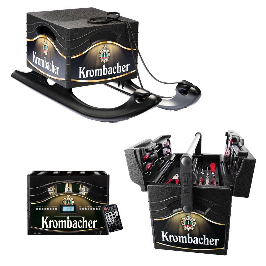 Verkaufsförderung: Krombacher