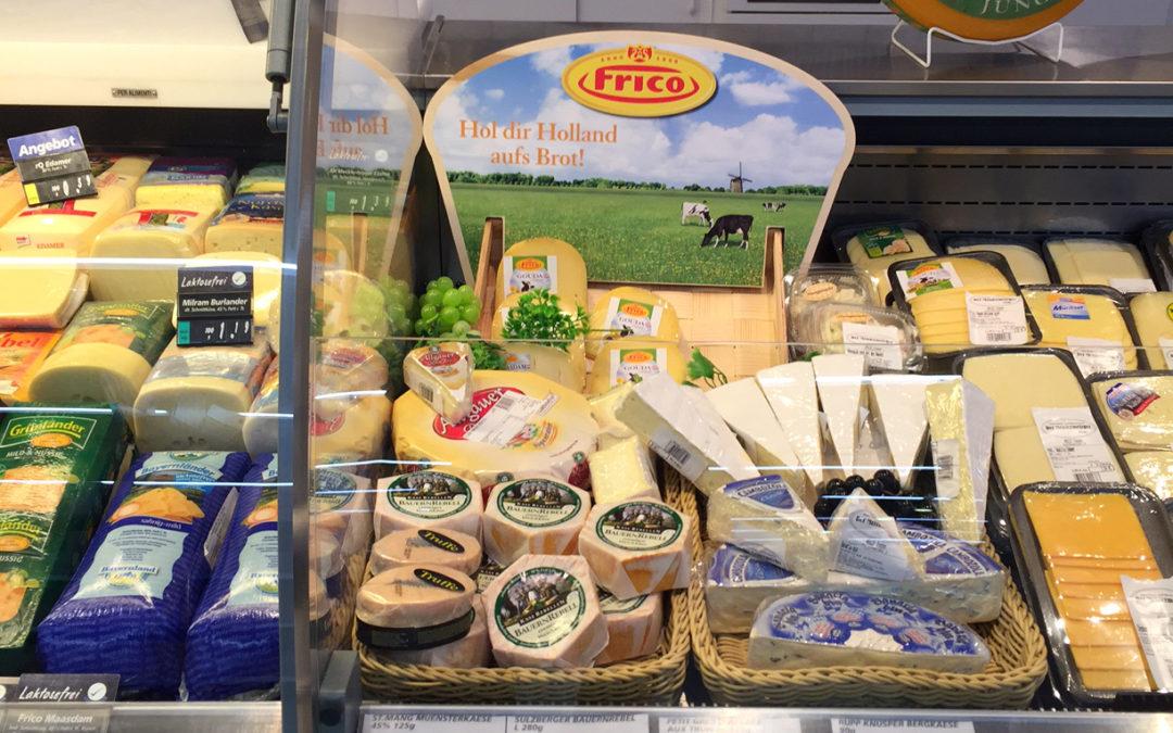 Käse- und Wursttheke im LEH – im real,- Markt