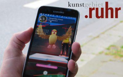 Pokémon Go auf unserer Essener Kunstroute