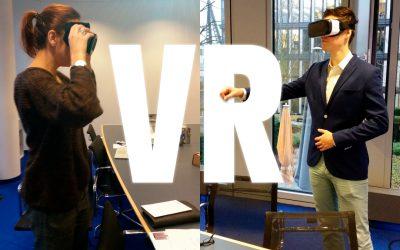 Virtuelle Realität, 3D, AR – und wir mittendrin.